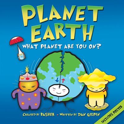 Book cover for Basher Science: Planet Earth
